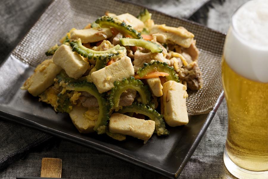 チャンプル なし ゴーヤ 豆腐